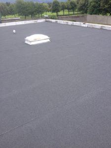 Roofing works in progress
