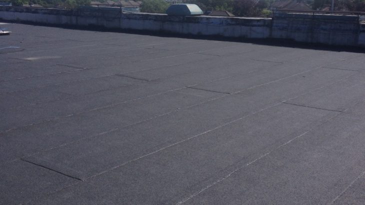 Flat Roof finish